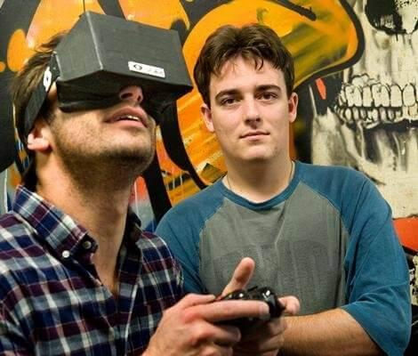 Palmer Luckey et l'Oculus Rift