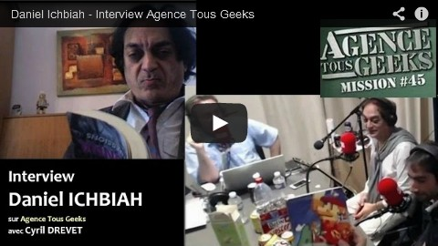 Daniel Ichbiah - interview Agence Tous Geeks sur Youtube