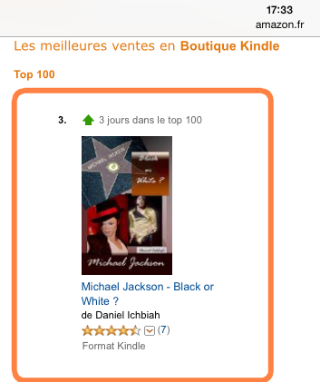 n°3 du Top 100 Amazon le 19 décembre 2014
